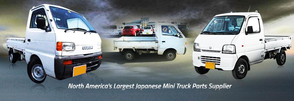 Largest Dealer of Japanese Mini Truck Parts - Honda - Subaru